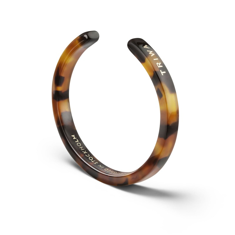 http://www.triwa.com - TRIWA Armband Unisex Bracelet 3 – Havana Turtle