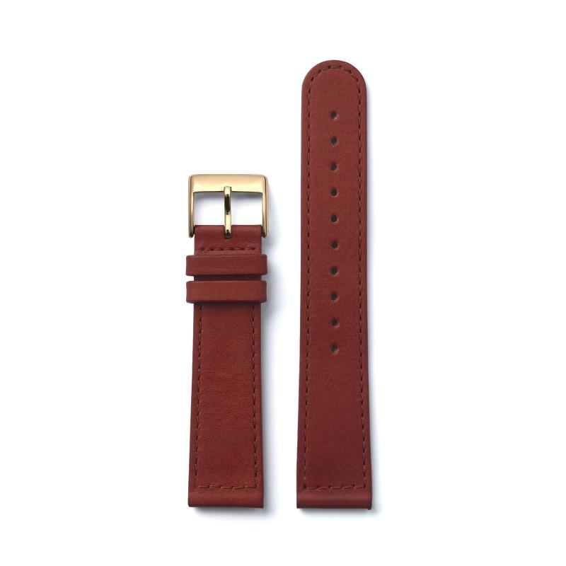 triwa.com - TRIWA Klockarmband Unisex Cognac Sewn Classic- Gold 495.00 SEK