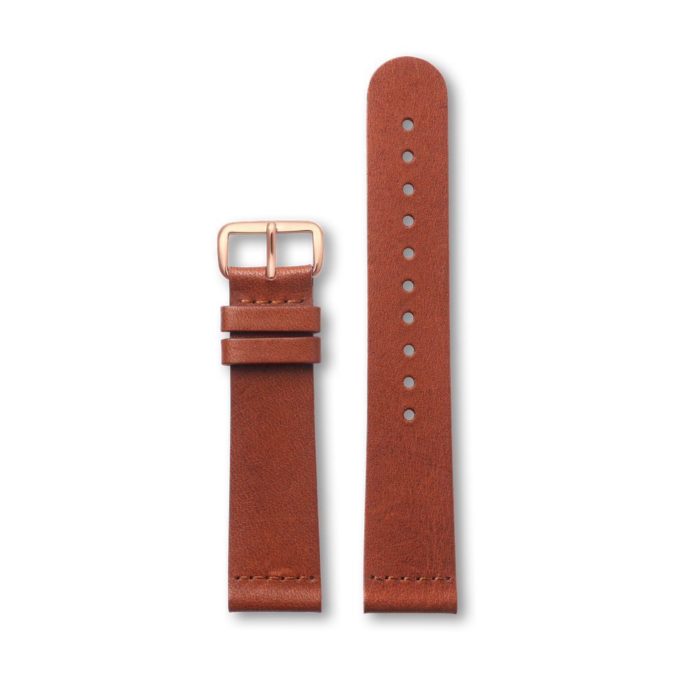 Brown Classic - Rose Buckle