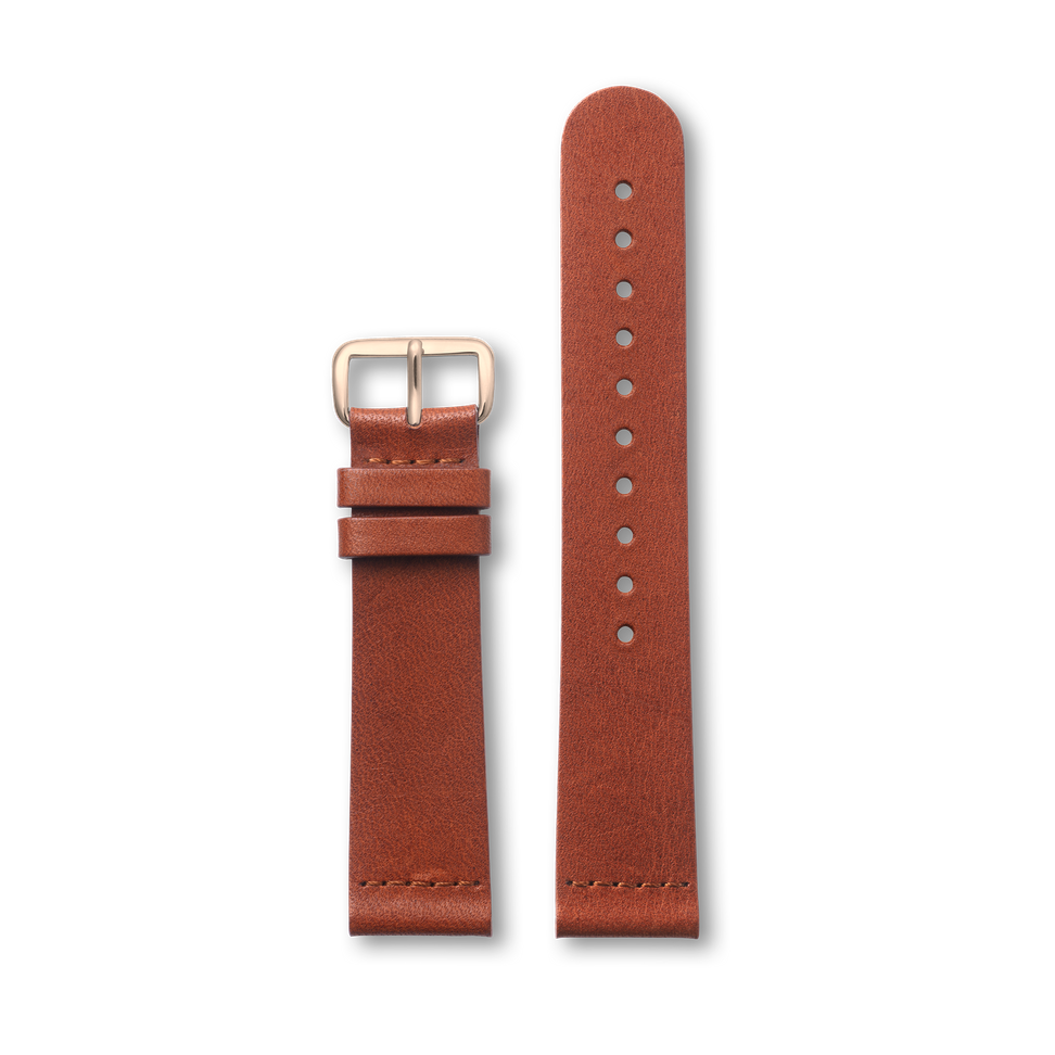 Brown Classic - Light Gold Buckle