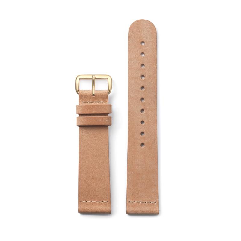 triwa.com - TRIWA Klockarmband Unisex Tan Classic – light gold 495.00 SEK