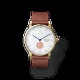 Triwa Coral Falken - 50% - Brown Classic - Gold