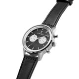 Slate Nevil Black Sewn Classic Silver from Men's Watches  in Watches