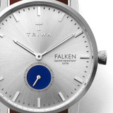 Blue Eye Falken with Extra blue nato strap in Inflight box - 50% from Sample Sale VIP in Outlet