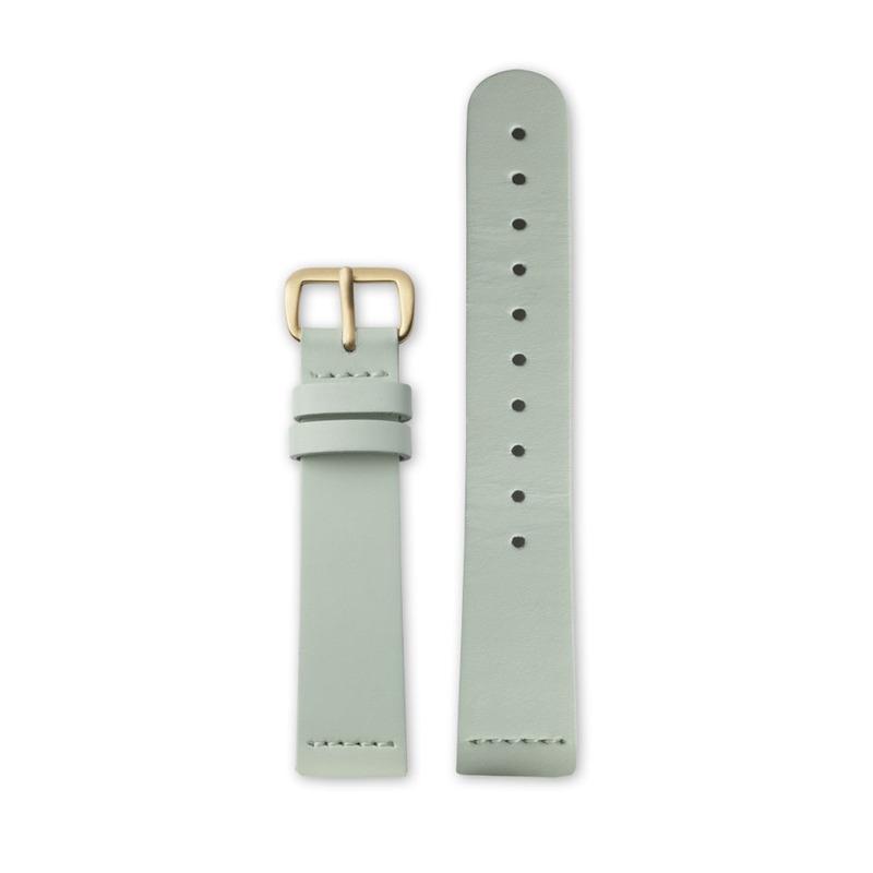 http://www.triwa.com - TRIWA Klockarmband Unisex Mint Super Slim – Gold 396.00 SEK