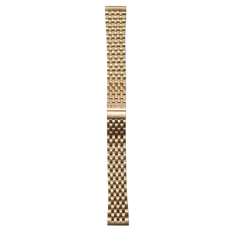 http://www.triwa.com - TRIWA Klockarmband Unisex Gold Brace Super Slim 476.00 SEK
