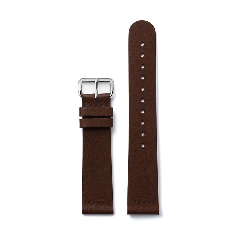http://www.triwa.com - TRIWA Klockarmband Unisex Dark Brown Super Slim 396.00 SEK