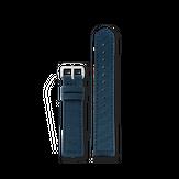 Triwa Recycled Blue Super Slim - Silver buckle