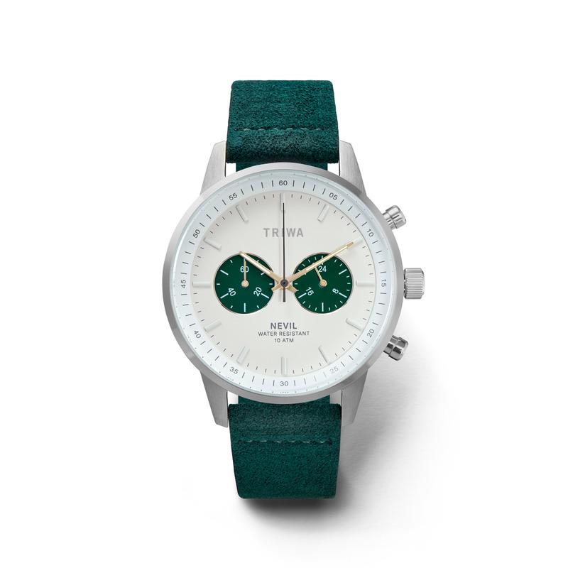http://www.triwa.com - TRIWA Klocka Unisex Emerald Nevil 2295.00 SEK