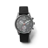 Triwa Humanium 39 Chrono - Recycled Black