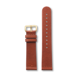 Triwa Brown Classic - Gold - Gold Buckle