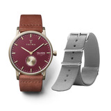 Ruby Falken with extra grey nato strap - 50% from Sample Sale VIP in Outlet