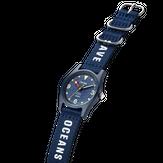 Triwa Ocean Plastic - Deep Blue Limited Edition - Ocean Deep Blue - Save Ocean