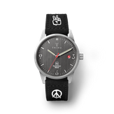 Triwa Humanium 39 - Limited Edition - Recycled Black - Peace