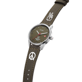 Triwa Humanium 39 - Limited Edition - Recycled Green - Peace