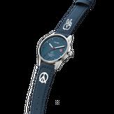 Triwa Humanium 39 - Blue Peace - Recycled Blue - Peace