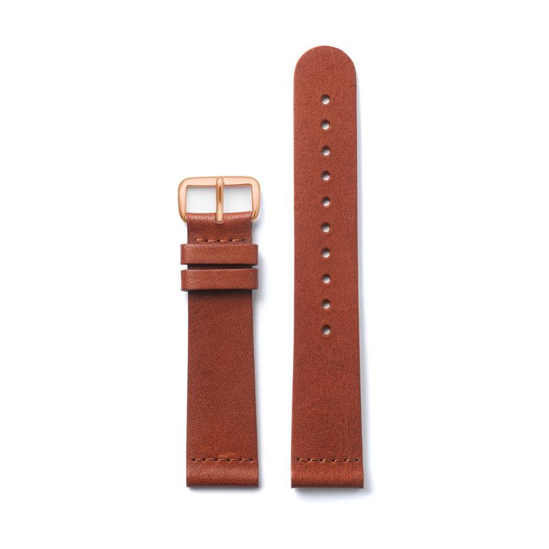 http://www.triwa.com - TRIWA Klockarmband Unisex Brown Classic Super Slim- Rose Buckle 396.00 SEK