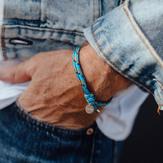 Triwa Ocean Plastic Bracelet - Turquoise -