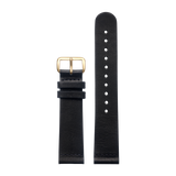 Black Classic - Gold from Regular strap (20 mm) in All Straps