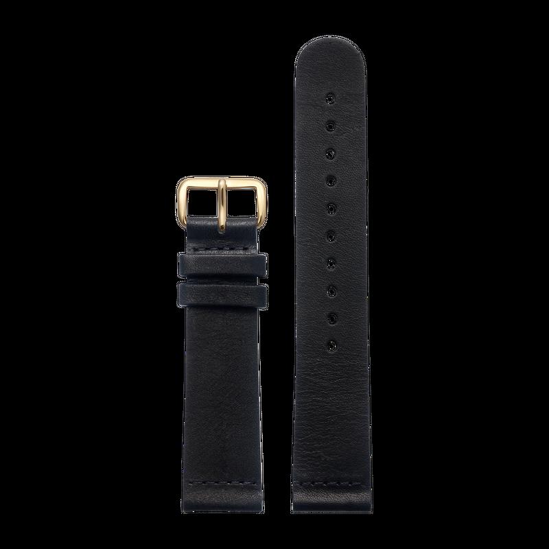 http://www.triwa.com - TRIWA Klockarmband Unisex Black Classic – Gold 396.00 SEK