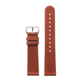 Brown Classic - Silver from Regular strap (20 mm) in All Straps
