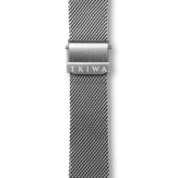 Triwa Stainless Steel Mesh - Silver - Silver Buckle
