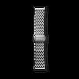Triwa Steel Brace - Silver - Silver Buckle
