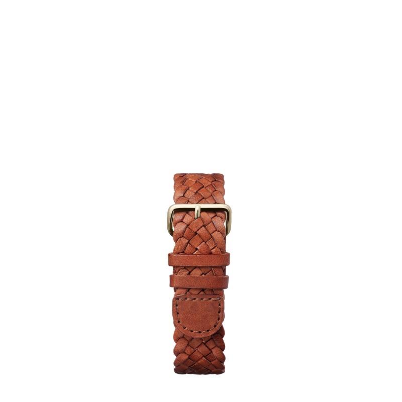 http://www.triwa.com - TRIWA Klockarmband Unisex Brown Braided Mono – Rose 396.00 SEK