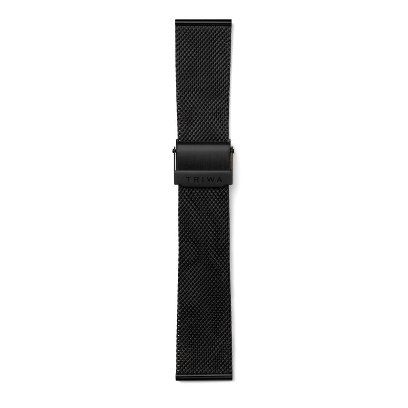 http://www.triwa.com - TRIWA Klockarmband Unisex Black Mesh – Black 476.00 SEK